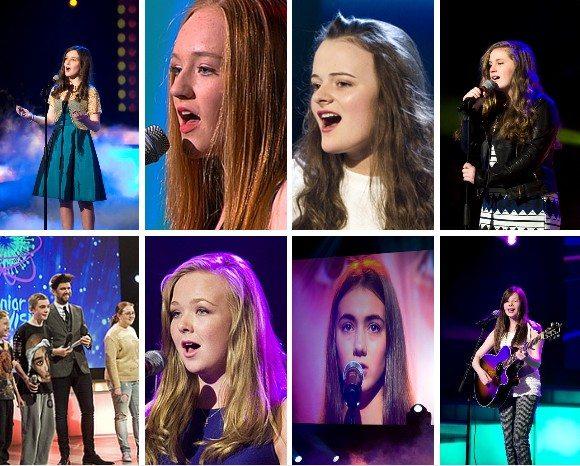 Junior Eurovision Heat Contestants